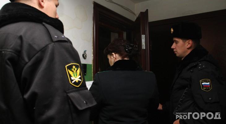 Чепецкие приставы взыскали почти 100 тысяч рублей с должников за тепло и электроэнергию