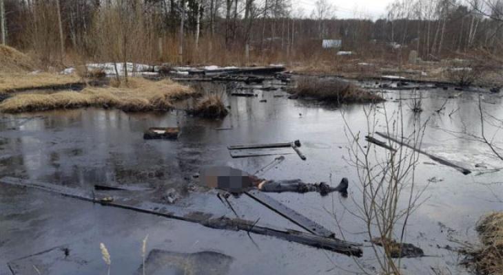 В Кировской области в яме с мазутом нашли тело мужчины