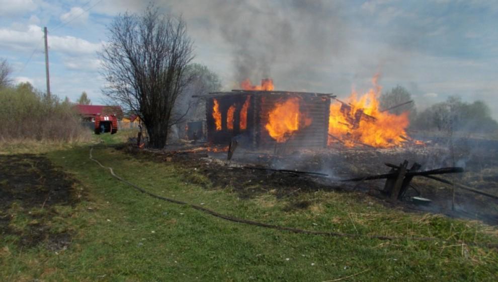 За 3 мая в Кировской области произошло 30 пожаров