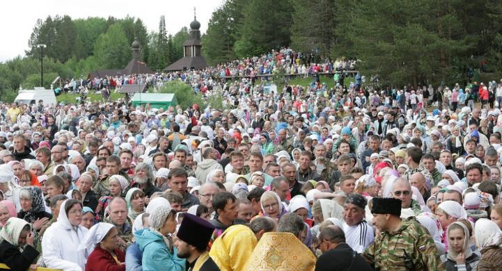 Появилось расписание Великорецкого крестного хода в 2019 году