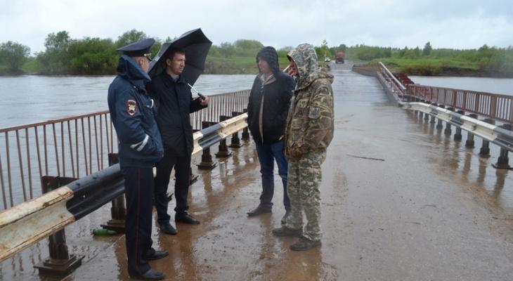 Стало известно, когда в Чепецке откроют мост на Каринторф