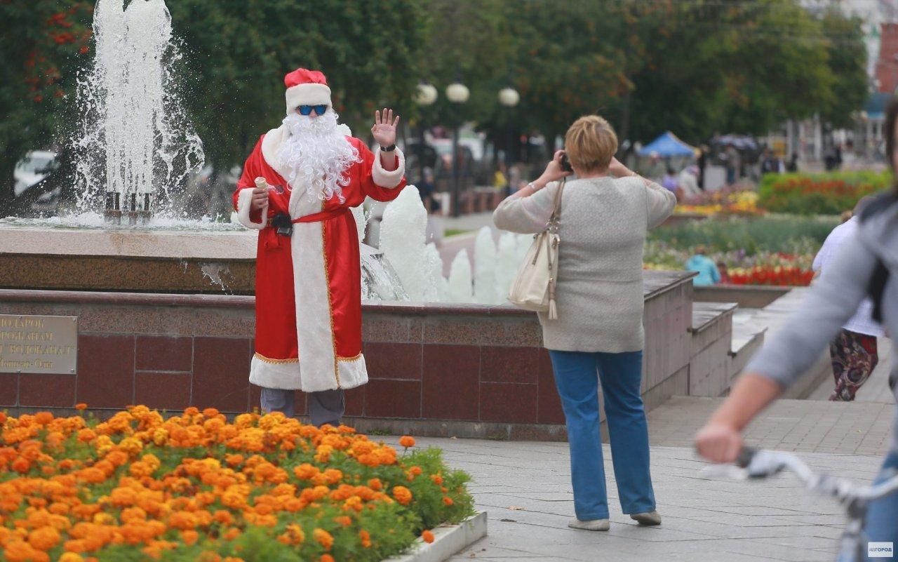 В первый день лета на улицы Чепецка выйдет Дед Мороз