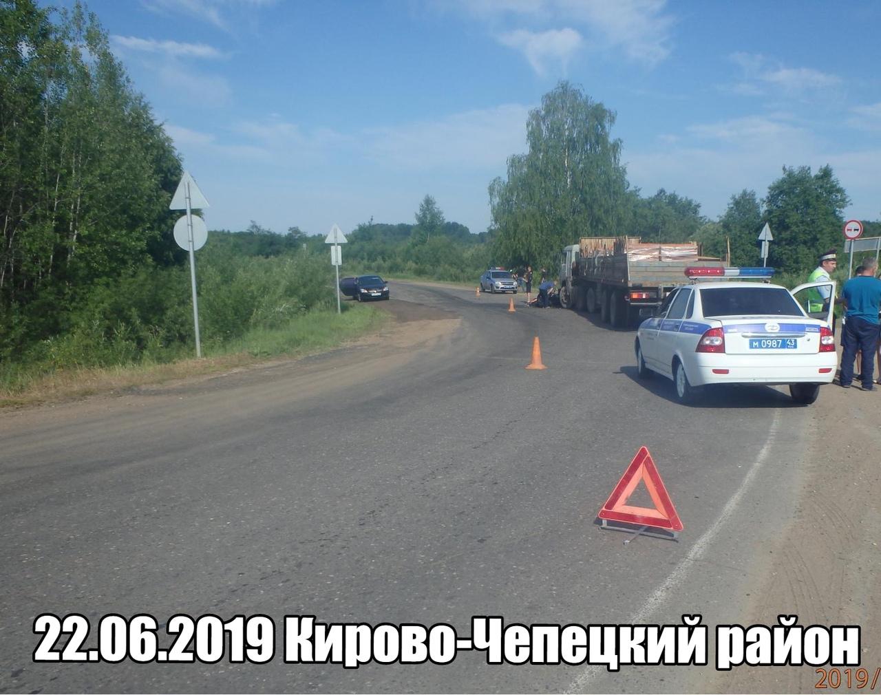 В Кирово-Чепецком районе в выходные произошла смертельная авария