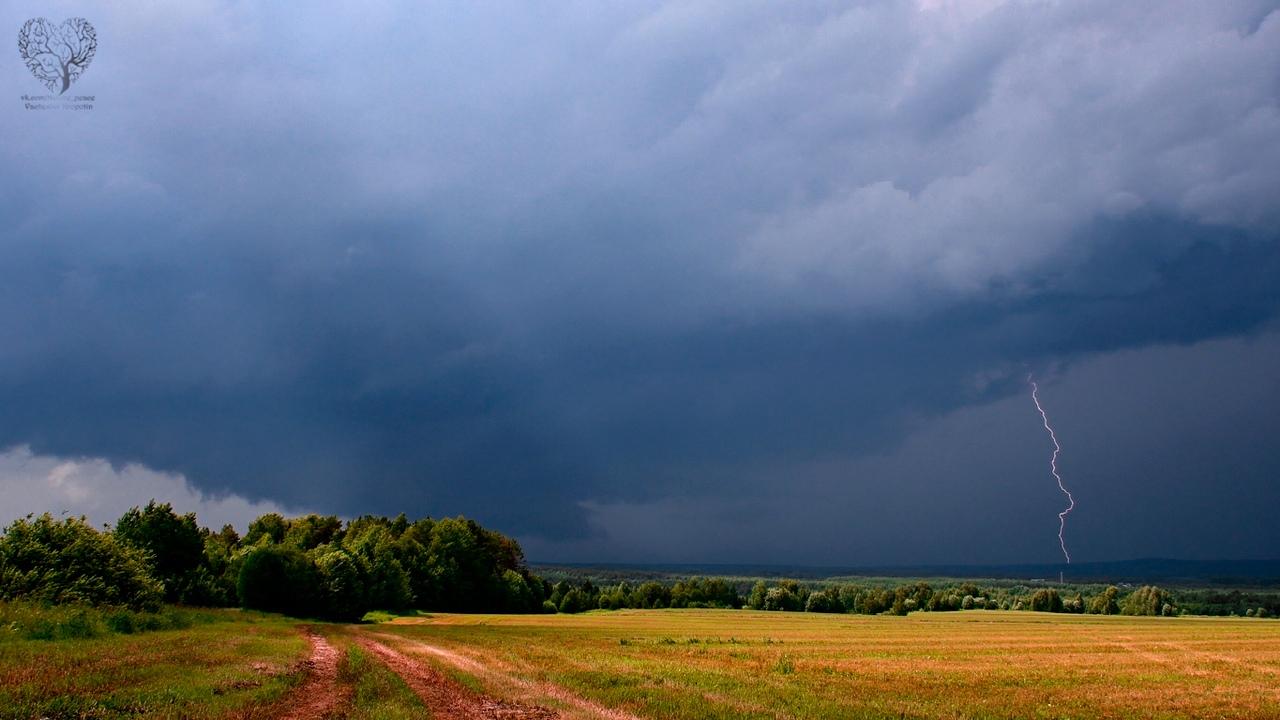 На Чепецк в выходные надвигается гроза, дожди не отступают