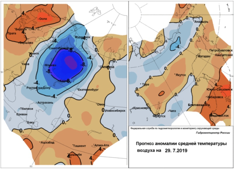 В Кировской области резко похолодает до +10 днем