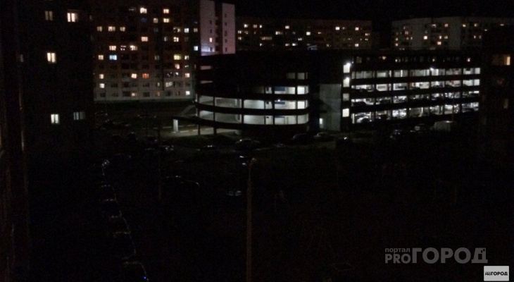Кромешная темнота: жители Чепецка пожаловались на отсутствие уличного освещения