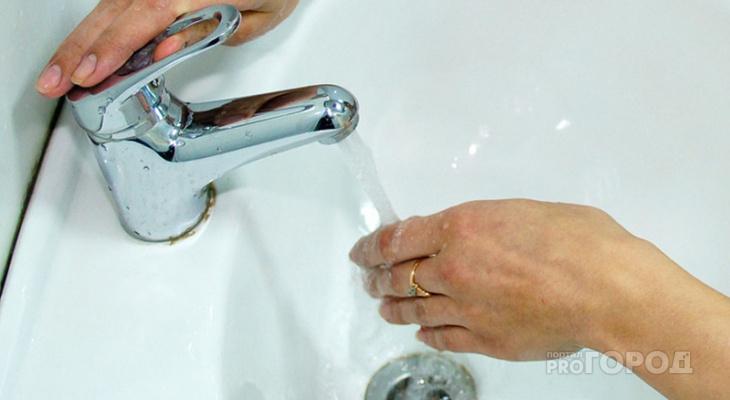В Кирово-Чепецке на день отключат горячую воду