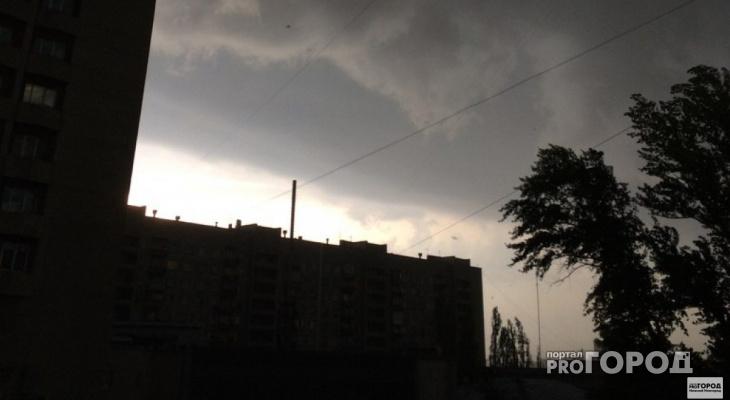 В Кирово-Чепецке объявили метеопредупреждение из-за сильного ветра