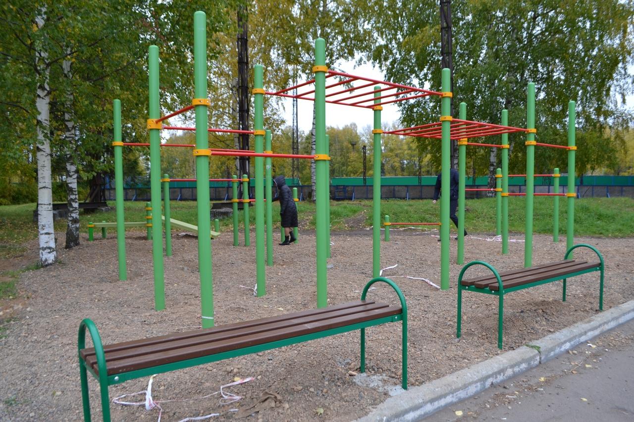 Фото дня: в Кирово-Чепецке откроют еще одну детскую площадку