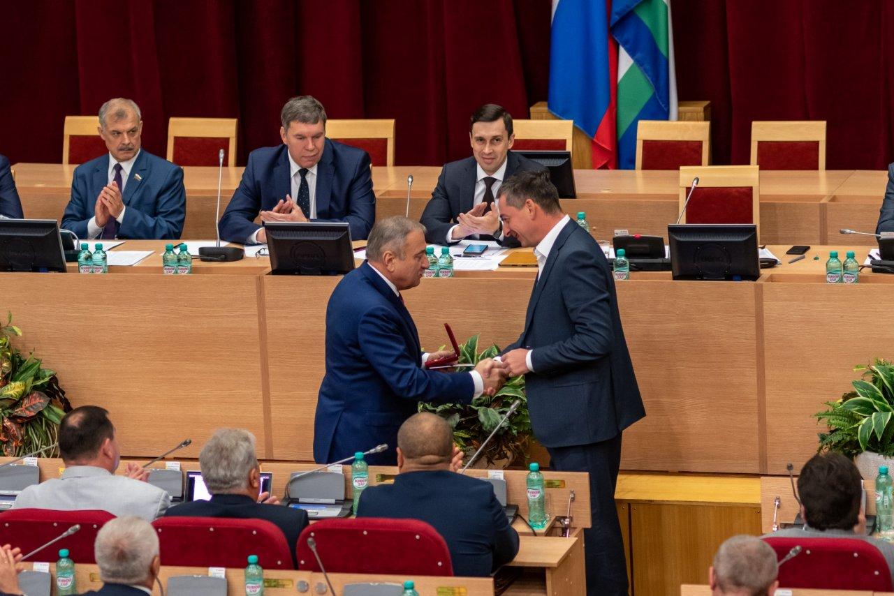 Сергей Момцемлидзе награжден почетным знаком Совета Федерации РФ