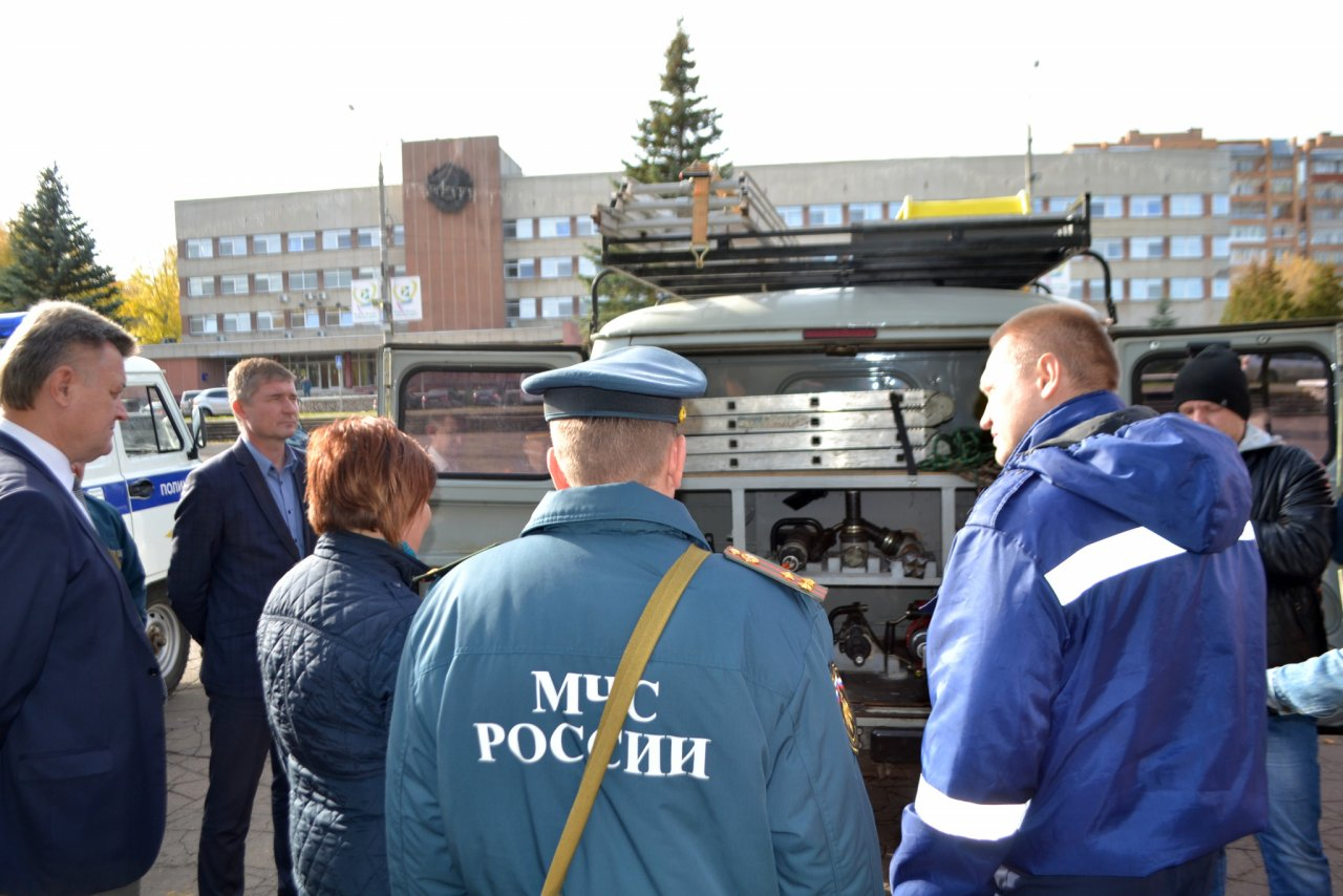 Фоторепортаж: в Кирово-Чепецке прошли масштабные учения по гражданской обороне