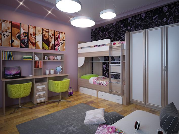 Выбираем мебель в детскую: как угодить детям и родителям?