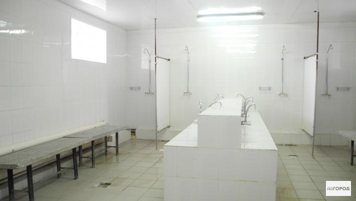 Колония-поселение в Кирово-Чепецке: мужчины моются в бане, а женщины в душевой
