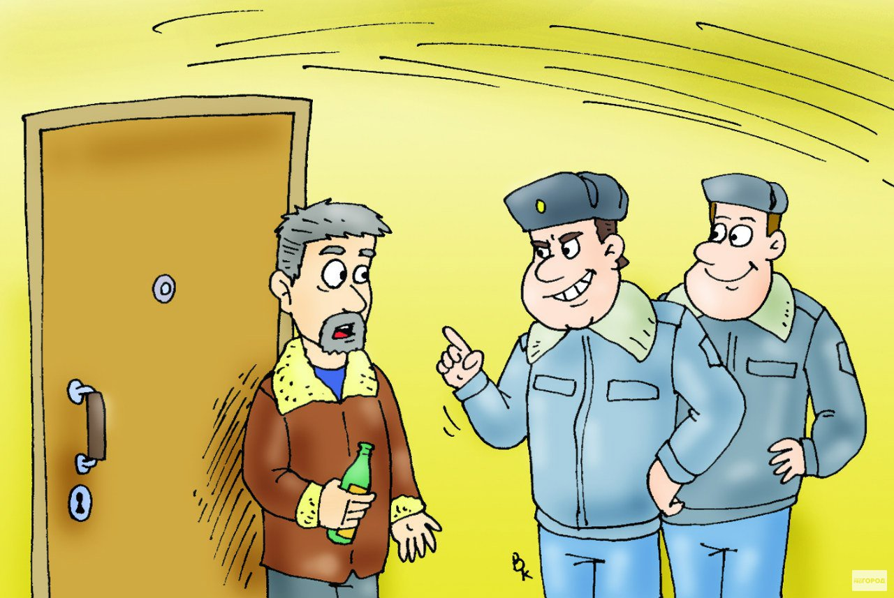 Чепчан за шумные ссоры дома будут арестовывать на 15 суток