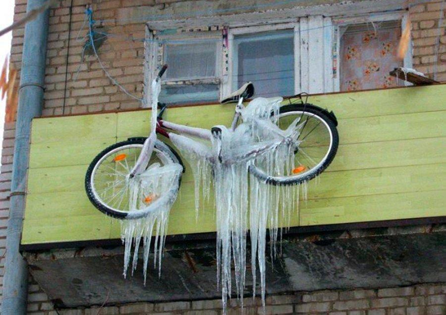 В Кирово-Чепецком районе подростки украли велосипед с балкона