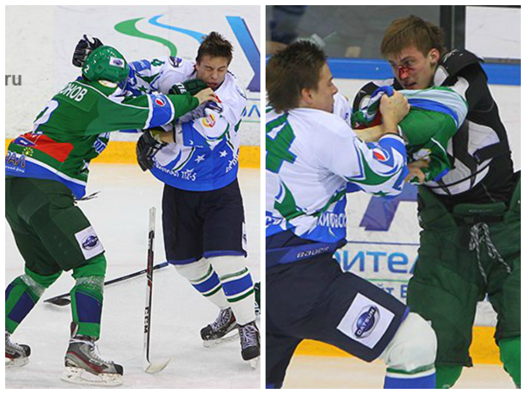 Хоккеист кирово-чепецкой «Олимпии» подрался с уфимским спортсменом