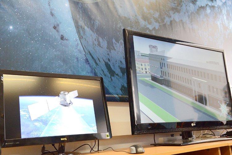 В двух лицеях Кирово-Чепецка работают центры космических услуг