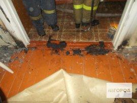 В Кирово-Чепецке в многоквартирном жилом доме произошел пожар