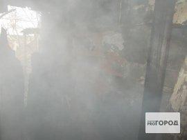 Ночью в Кирово-Чепецком районе сгорела баня