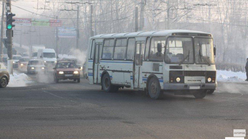 Чепчане могут узнать о движении автобусов онлайн