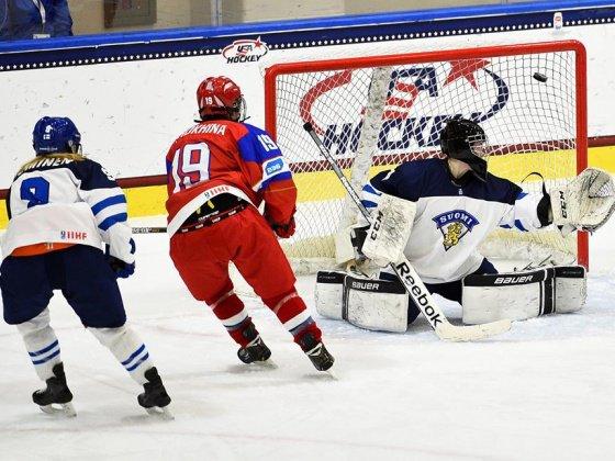 16-летняя чепчанка выступила на Чемпионате мира по хоккею 2015 года