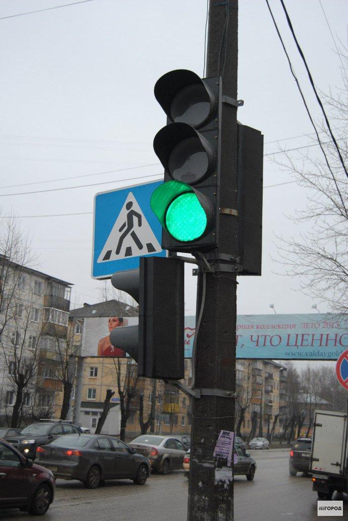 Новым светофором при въезде в Чепецк довольны не все