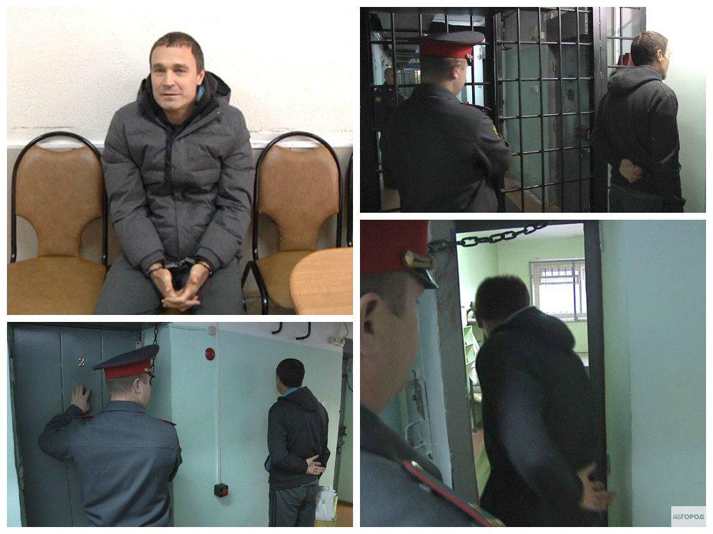 Появилось видео с места задержания кировского авторитета Михаила Прокопьева