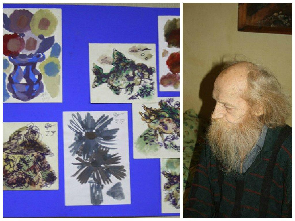 В Чепецке открылась выставка работ 70-летнего художника-абстракциониста