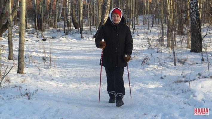 Чепчан приглашают прогуляться с лыжными палками
