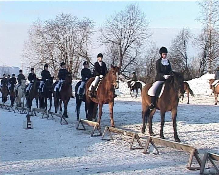 В Кирово-Чепецком районе конники открыли сезон
