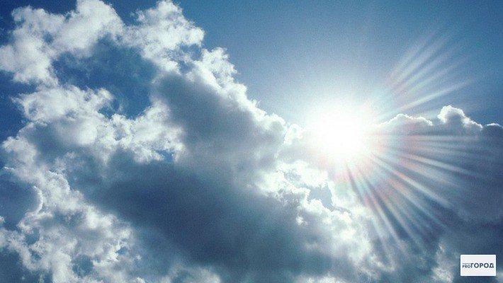 На предстоящих выходных погода в Кирово-Чепецке будет теплой