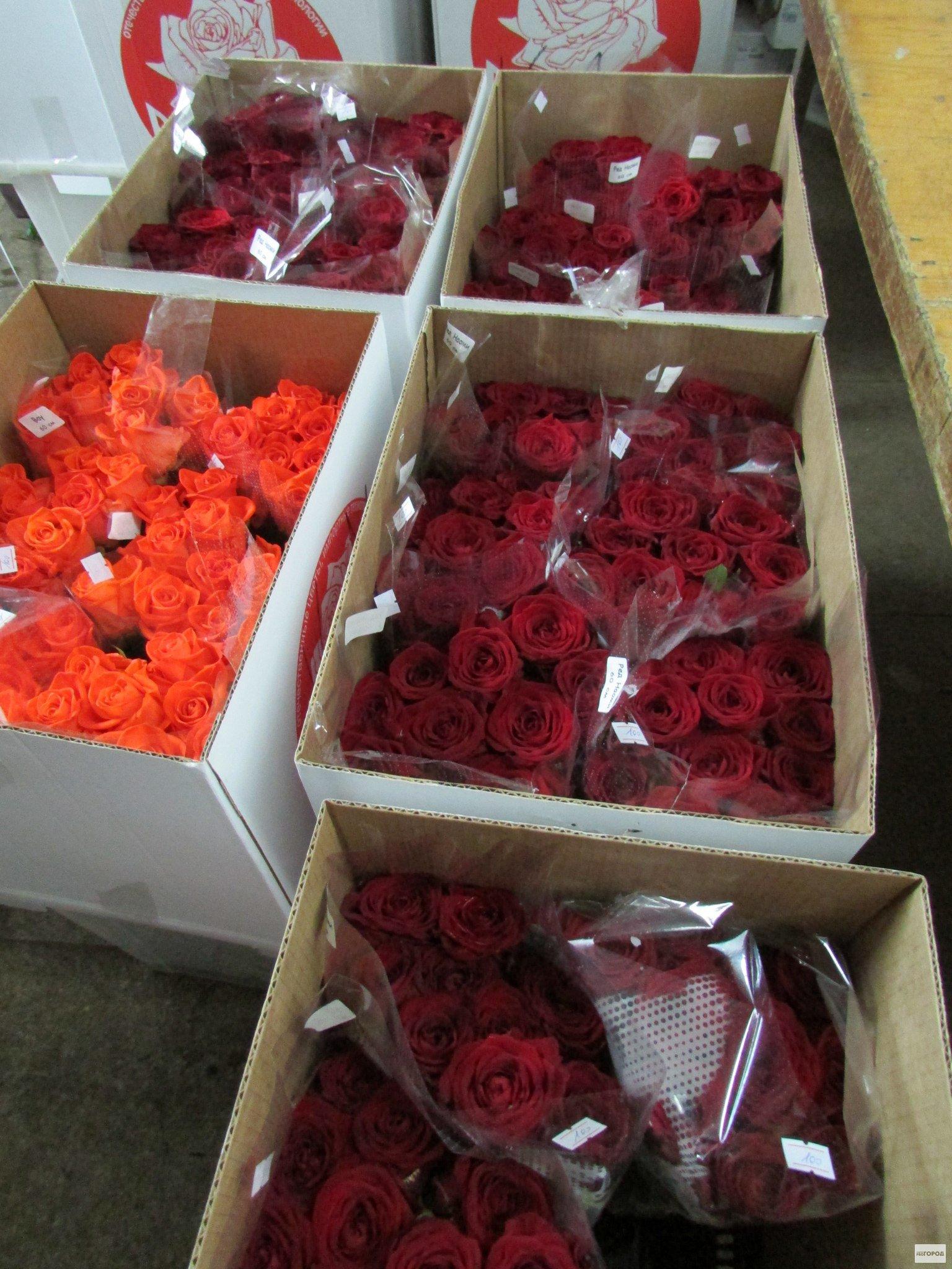 В Кирово-Чепецк привезли 50 тысяч цветов