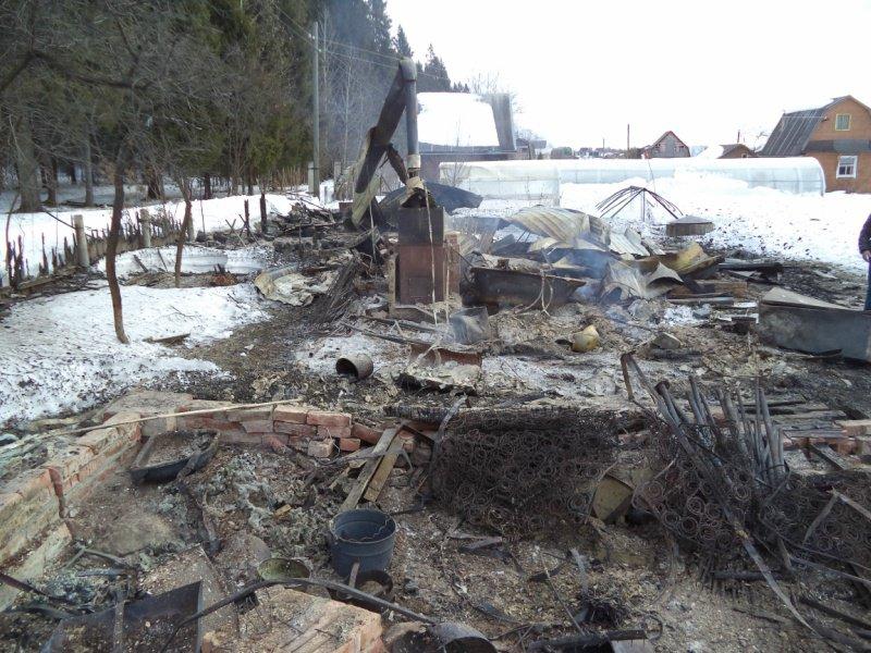 В Кирово-Чепецке в пожаре сгорел человек: тело невозможно опознать