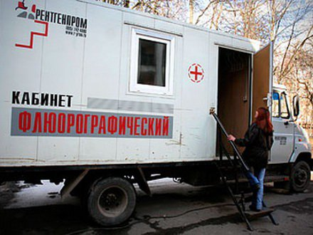 В Кирово-Чепецк приедет передвижной флюорограф
