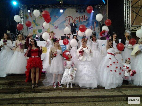 В этом году в Кирово-Чепецке снова пройдет «Парад невест»