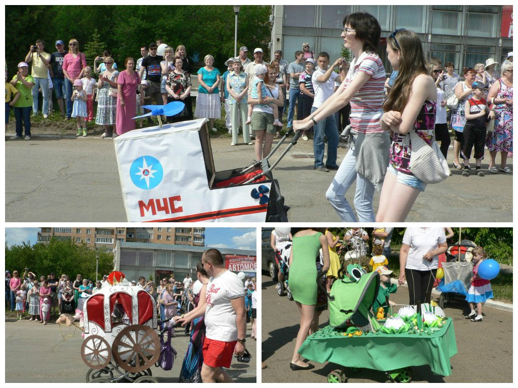 31 мая в Кирово-Чепецке вновь пройдет парад колясок