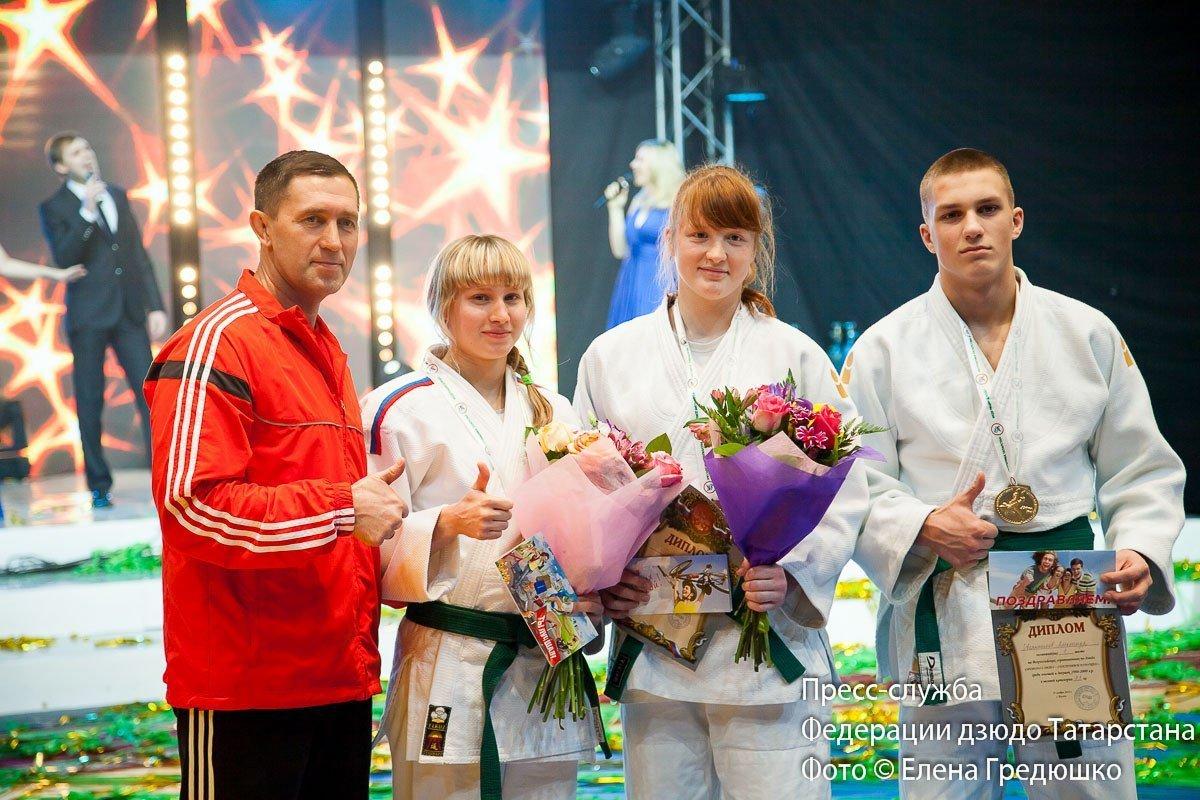 Интервью за 60 секунд: 16-летняя дзюдоистка Дарья Поршнева после получения награды
