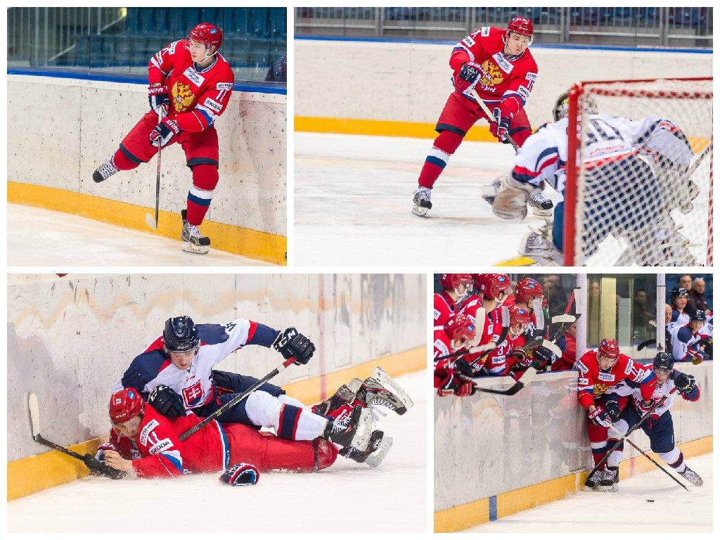 Игрок «Олимпии» попал в молодежную сборную России и в первом же матче Турнира четырех наций совершил голевую передачу