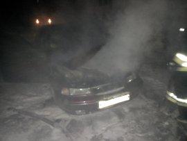 В Кирово-Чепецке горел «ВАЗ»