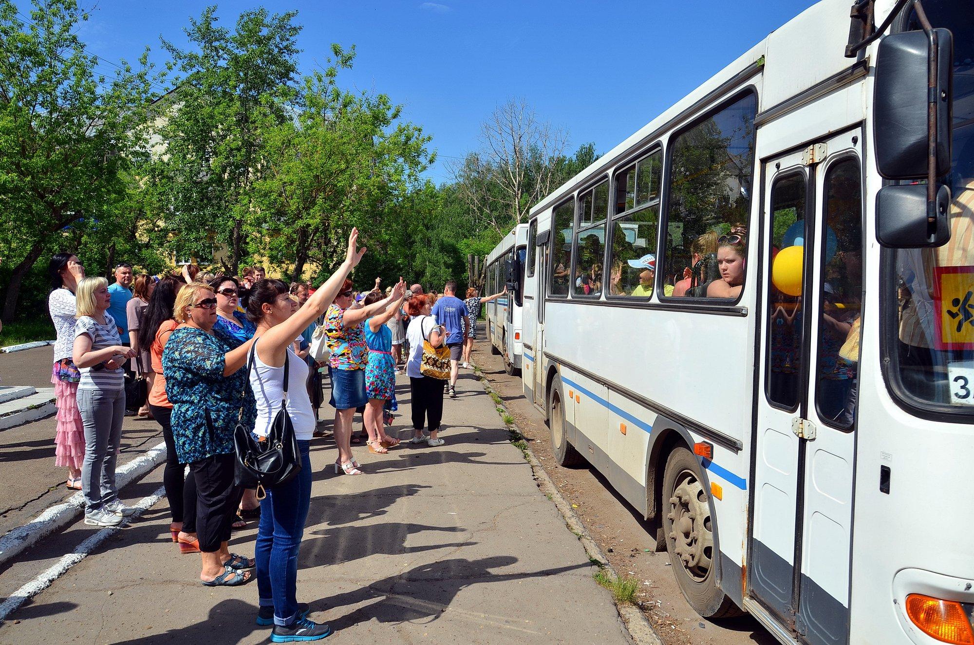 Дети сотрудников «ЗМУ КЧХК» отправились в летний лагерь