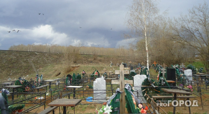 Администрация Чепецка ввела ограничения по посещению кладбищ