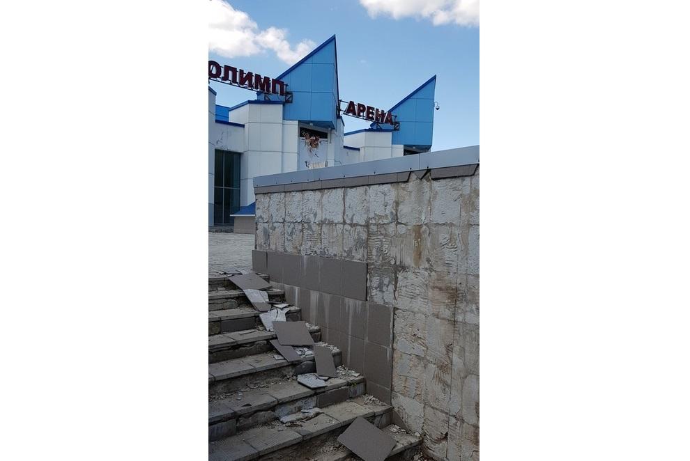 «Дворцу всего 10 лет, а он уже разваливается»: чепчане о состоянии «Олимп-Арены»