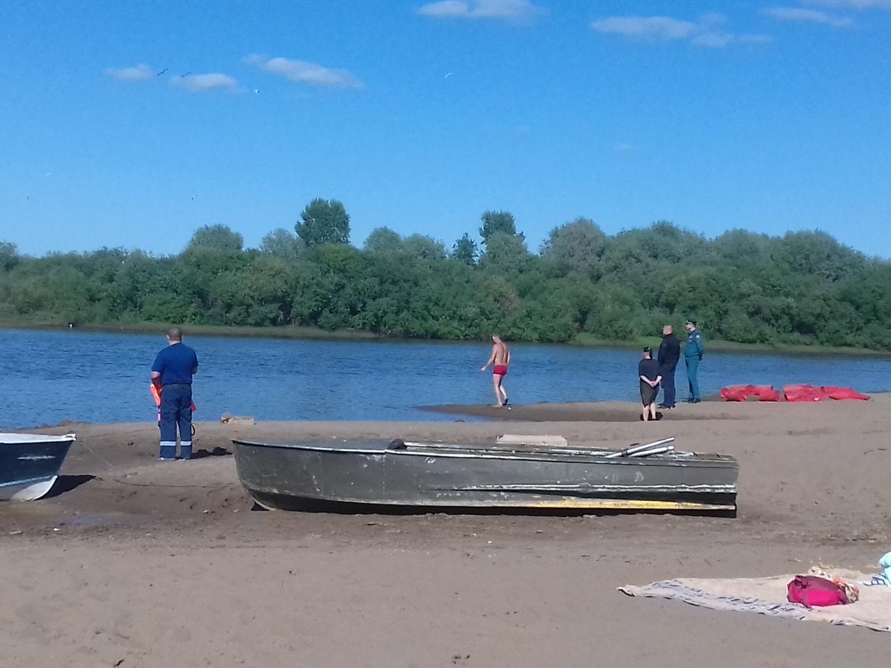 В Кирово-Чепецке на городском пляже утонул ребенок