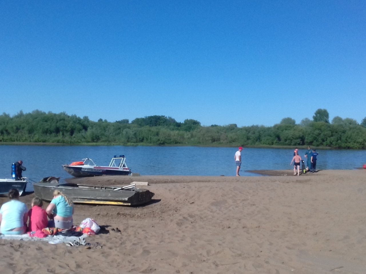 В реке рядом с городским пляжем в Кирово-Чепецке найдено тело мальчика