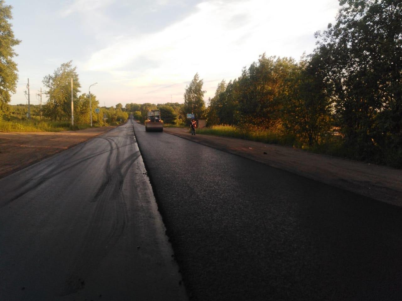 Участок дороги на Каринторф могут сдать раньше срока