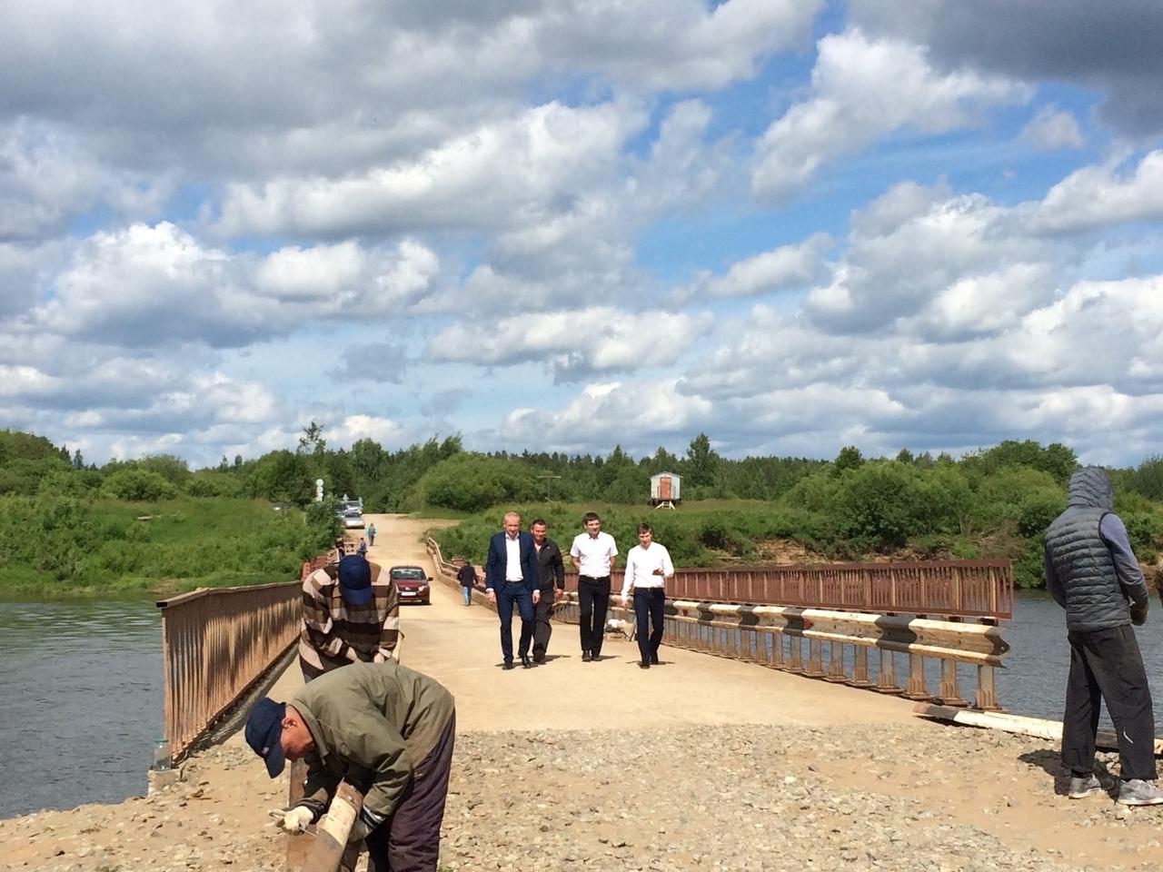 Движение закрыто: комиссия не приняла понтонный мост на Каринторф