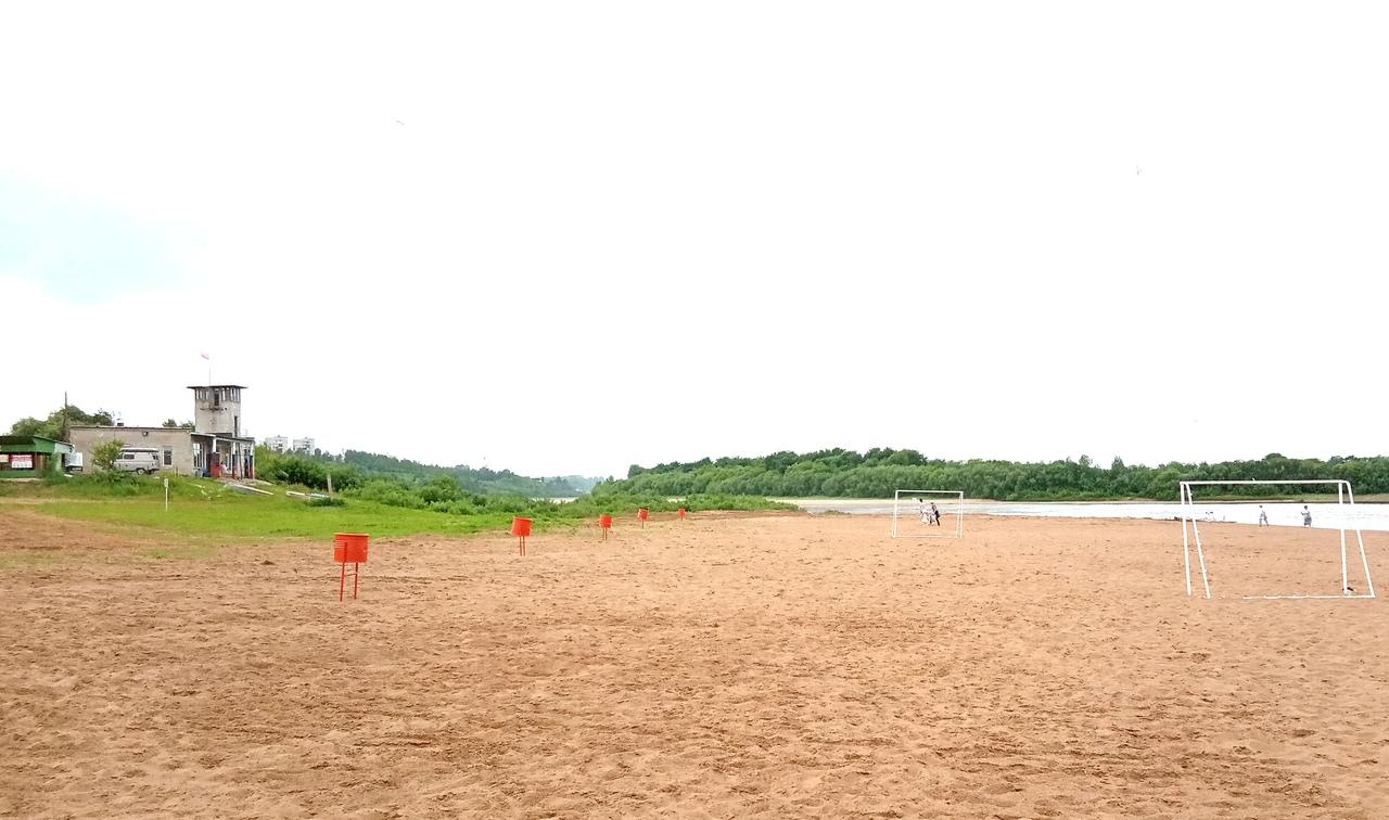 В администрации Чепецка рассказали, можно ли купаться на городском пляже