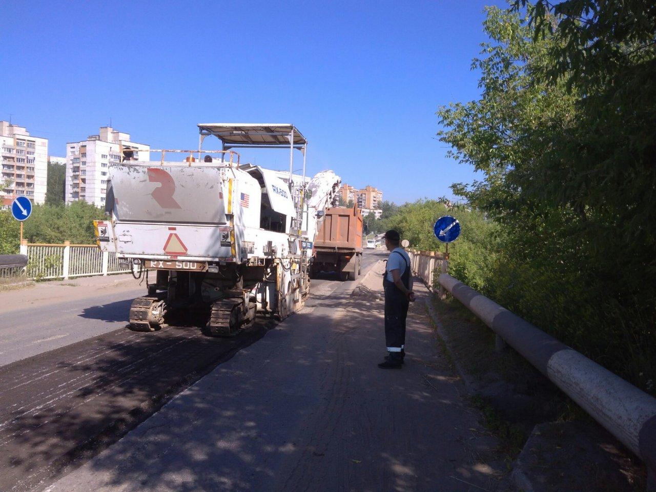 Дождались: на улице 60 лет Октября начались дорожные ремонтные работы
