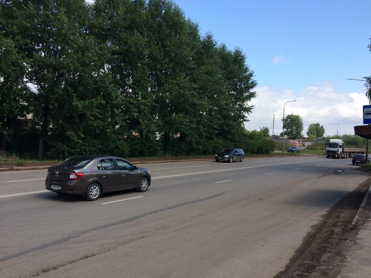 Новую разметку на дорогах Кирово-Чепецка обещали скорректировать