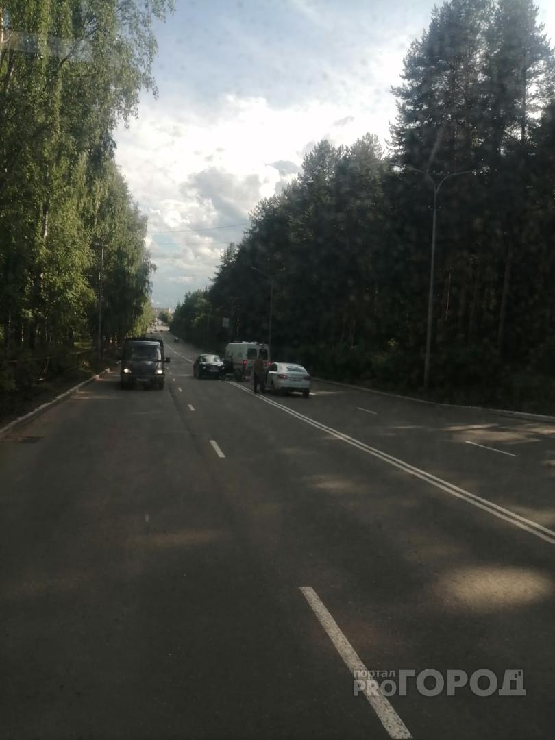 Что обсуждают в Кирово-Чепецке: ДТП у СЭС и отключение горячей воды